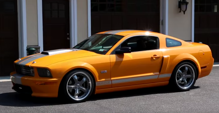 low production supercharged 2008 shelby mustang california special