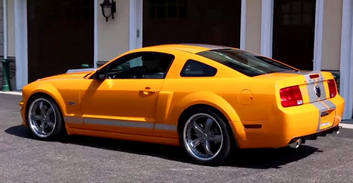 rare 2008 shelby mustang gt california special review