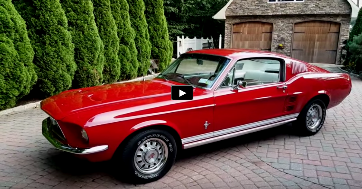 1967 ford mustang fastback 289 4-speed review