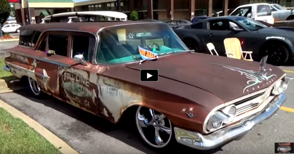 WICKED 1960 CHEVY KINGSWOOD STATION WAGON | HOT CARS