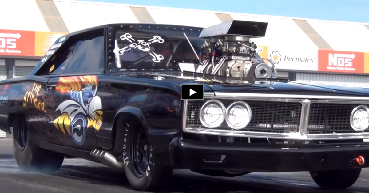 1400hp 1966 dodge coronet the stinger