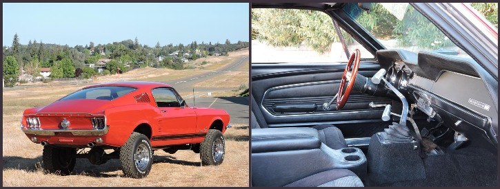 bronco 1967 ford mustang 4wd