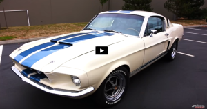 s-code 1967 mustang fastback shelby gt500 clone