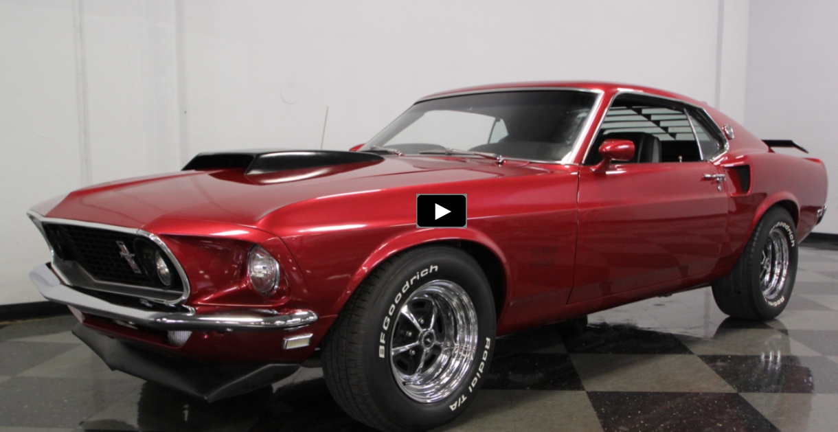 1969 mustang boss 429 recreation