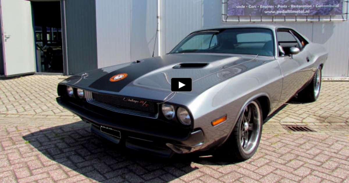 pro touring 1970 dodge challenger r/t