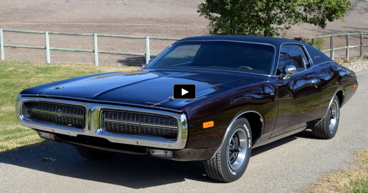 1972 dodge charger special edition restoration