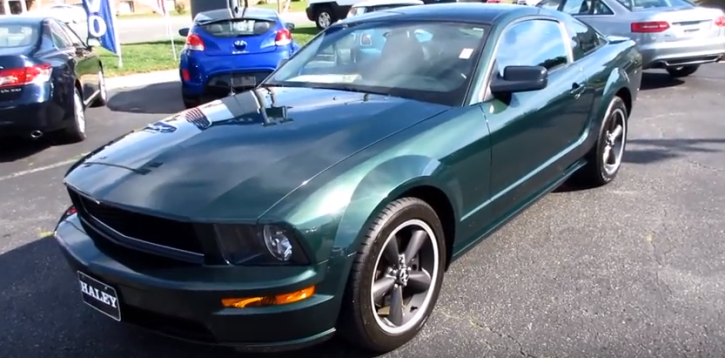limited edition 2009 ford mustang bullitt review