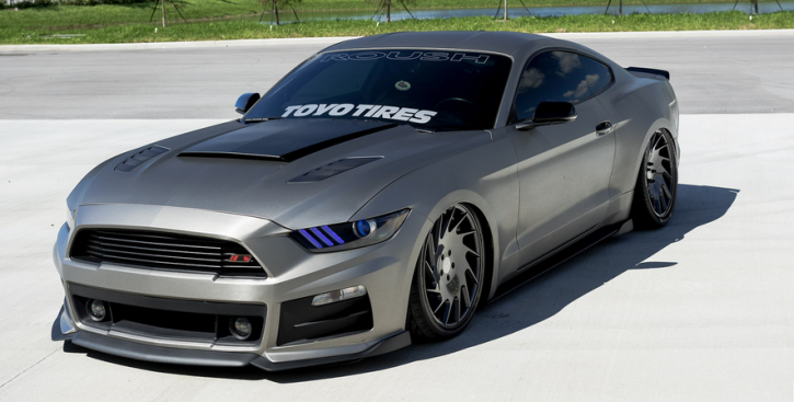 bagged roush 2015 mustang gt custom
