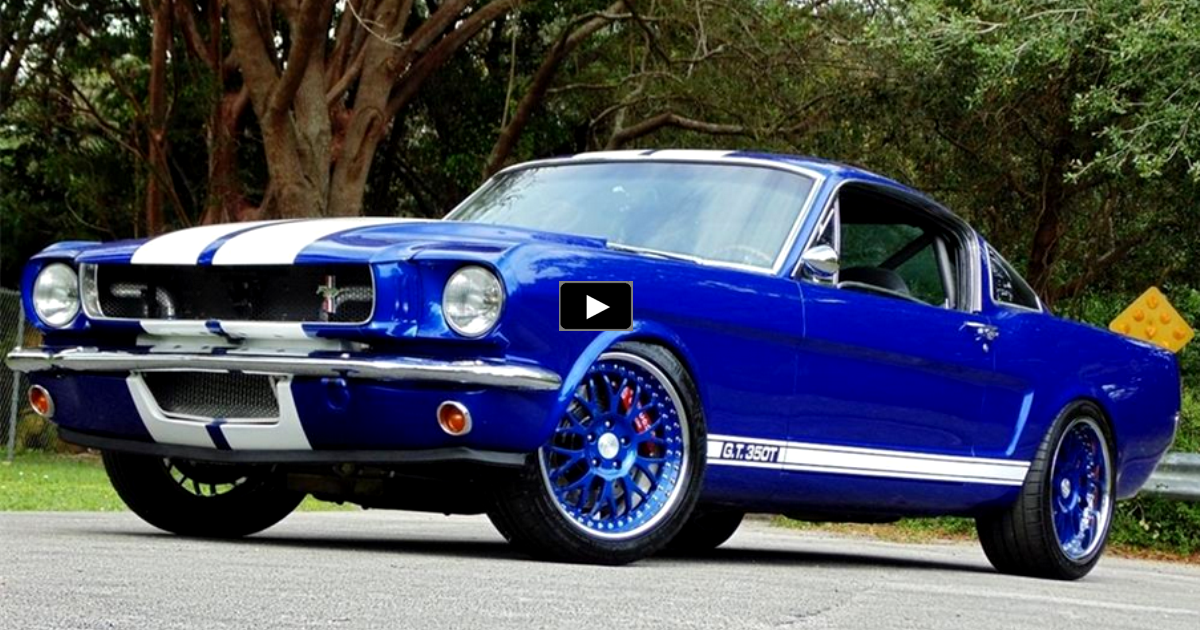 twin turbo 1965 ford mustang gt fastback custom