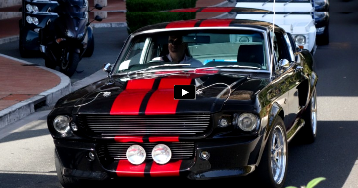 spotted mustang shelby gt500 eleanor