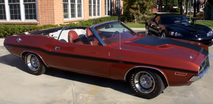 numbers matching 1970 dodge challenger r/t convertible