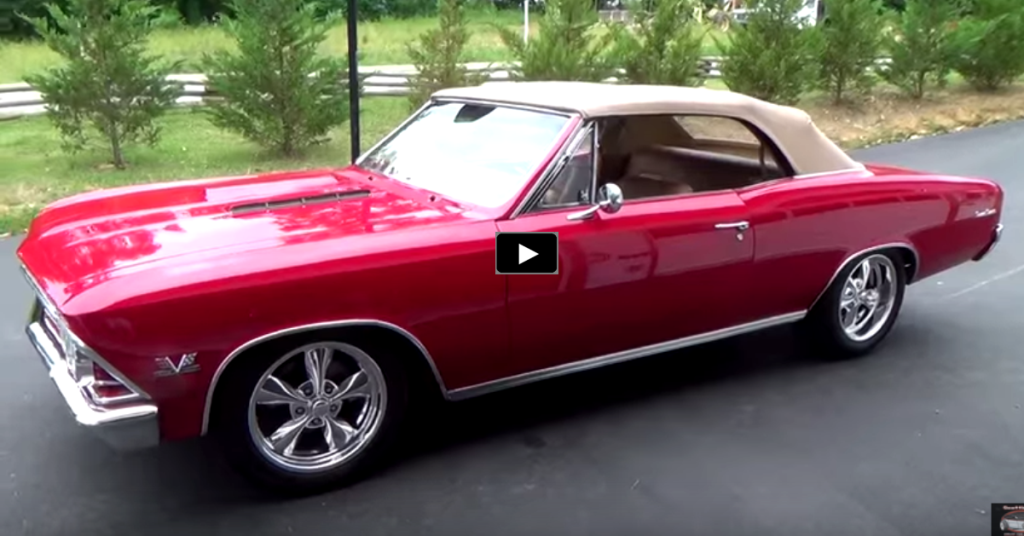 Best American Muscle Cars >> STUNNING DROP TOP 1966 CHEVY CHEVELLE SS CUSTOM | HOT CARS