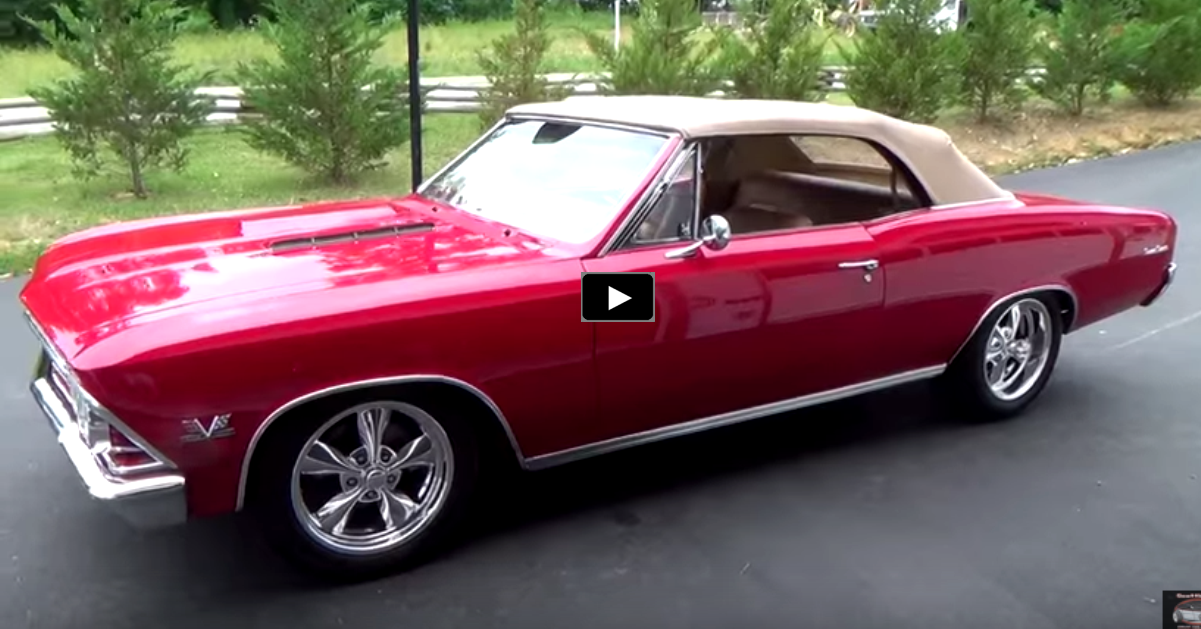 custom 1966 chevy chevelle ss 396 convertible
