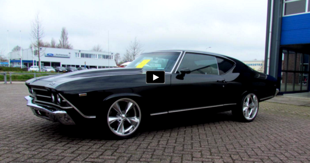 SLICK PRO TOURING 1969 CHEVY CHEVELLE BIG BLOCK | HOT CARS