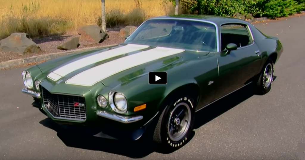 Forrest Green 1970 Chevrolet Camaro Z28 Hot Cars