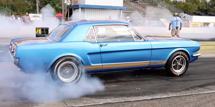 nitrous 1966 ford mustang boss 302 cleveland