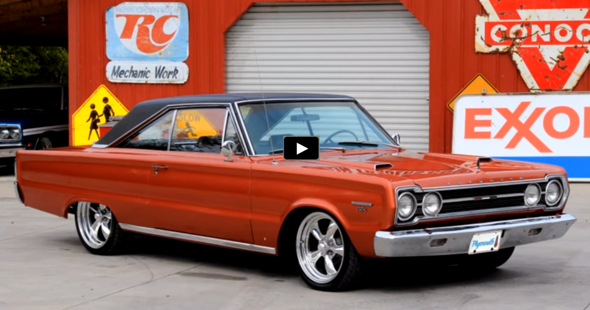 1967 plymouth gtx 440 restoration