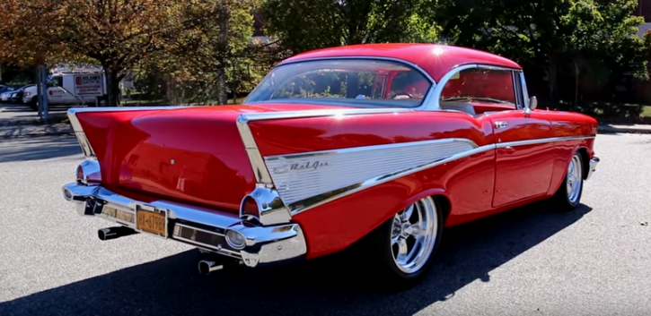 1957 chevy belair pro touring build