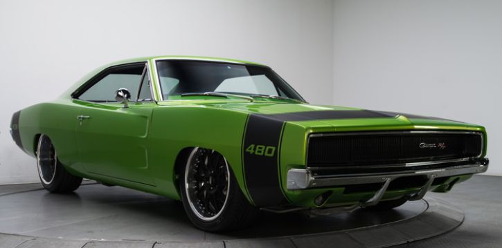 pro touring hemi powered 1968 dodge charger