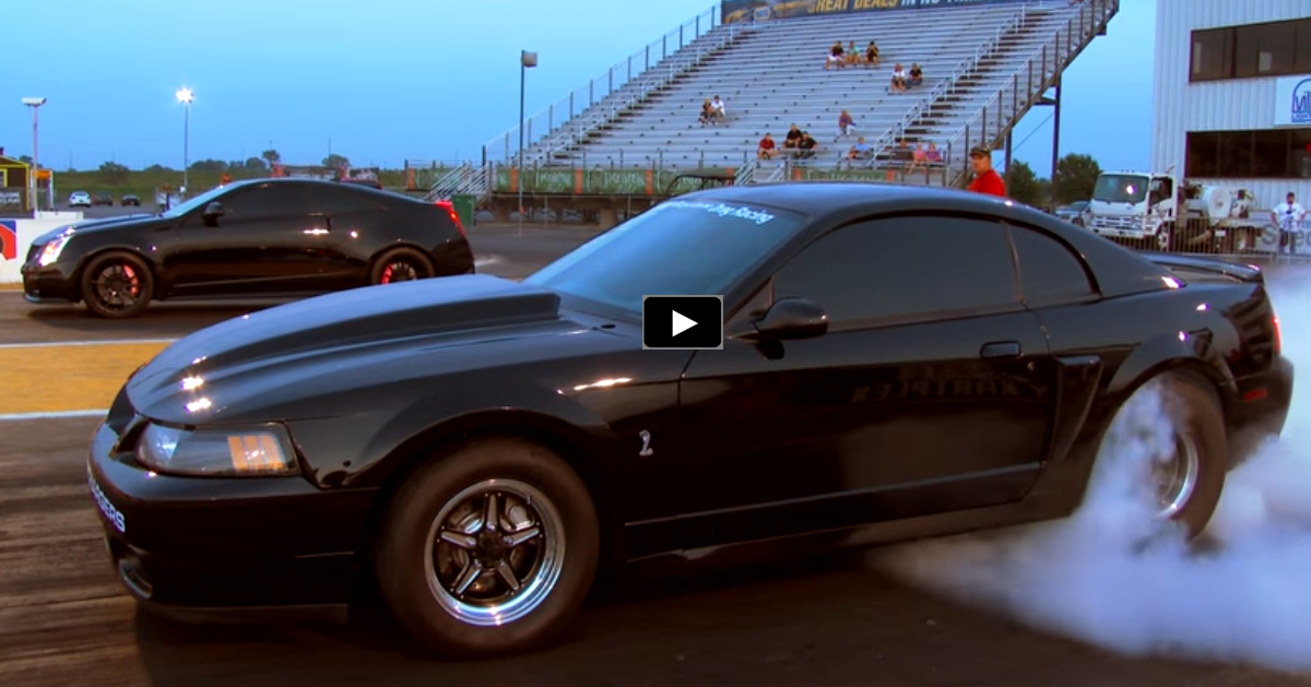 supercharged mustang cobra drag racing