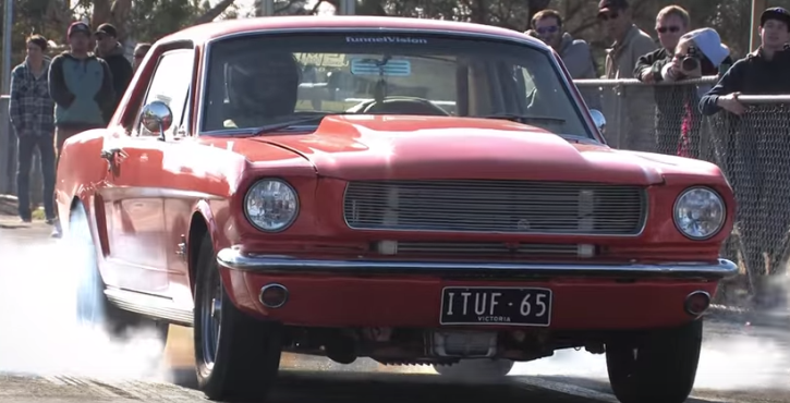 turbocharged 1965 ford mustang street car