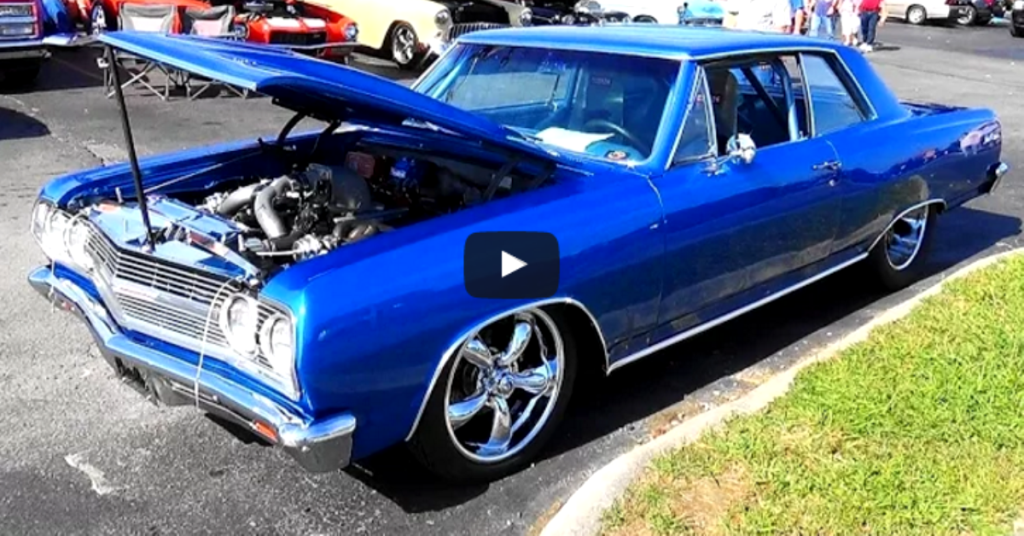 900hp twin turbo 1965 chevy malibu chevelle hot cars. Black Bedroom Furniture Sets. Home Design Ideas