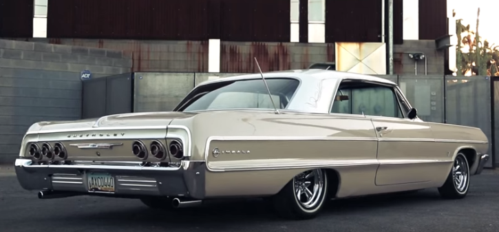 custom 1964 chevy impala