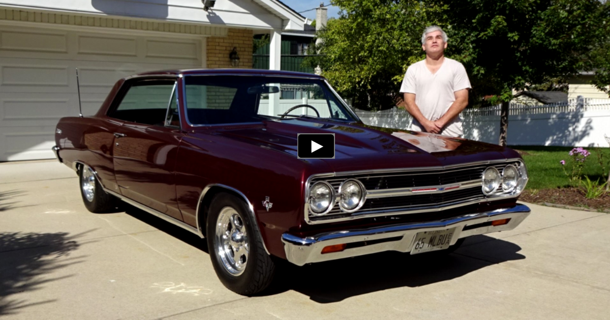 1965 chevy malibu ss with blind owner