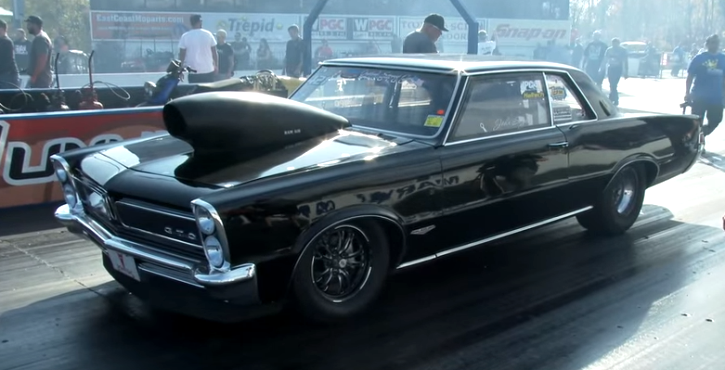n/a all motor pontiac gto drag racing