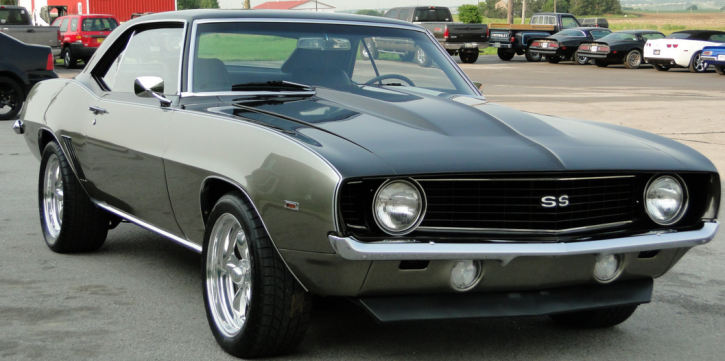 custom built 1969 chevy camaro ss