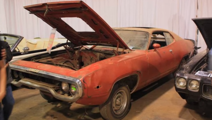 rare 1972 plymouth road runner restoration