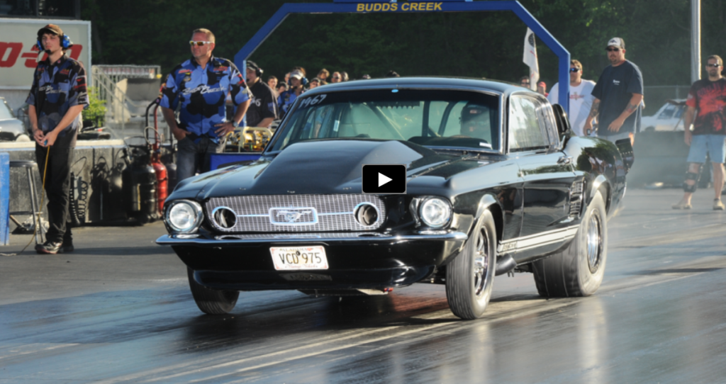 BRUTAL 6-sec TWIN TURBO OUTLAW 1967 MUSTANG | HOT CARS