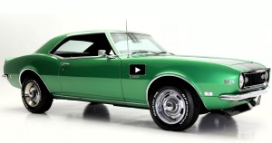 1968 chevy camaro z28 rally green