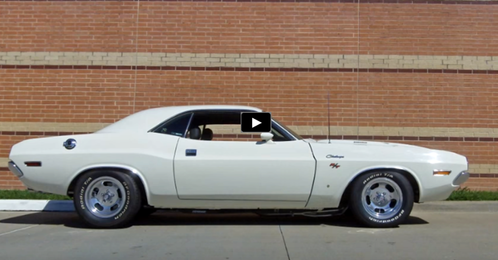 BEAUTIFUL ALPINE WHITE 1970 DODGE CHALLENGER | HOT CARS