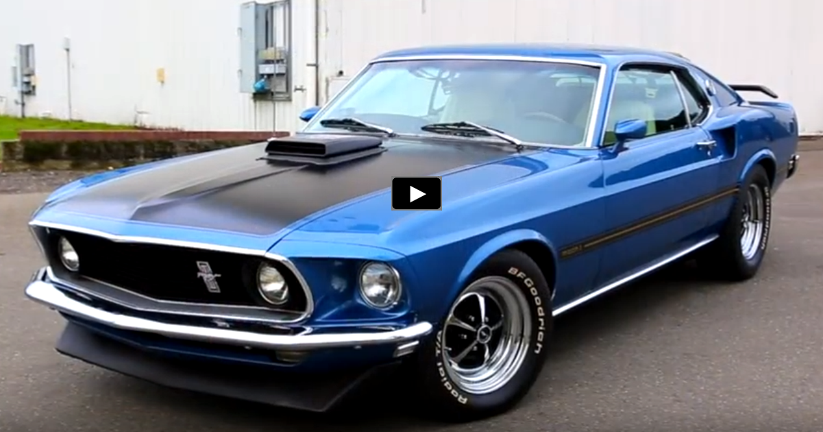 1969 ford mustang mach 1 351 windsor