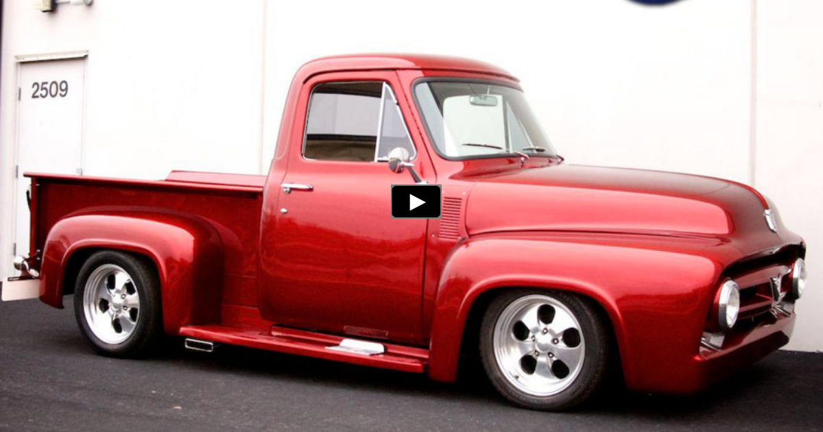 custom 1953 ford f100 truck