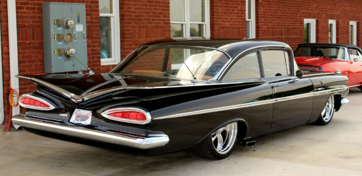 fully custom 1959 chevrolet bel air
