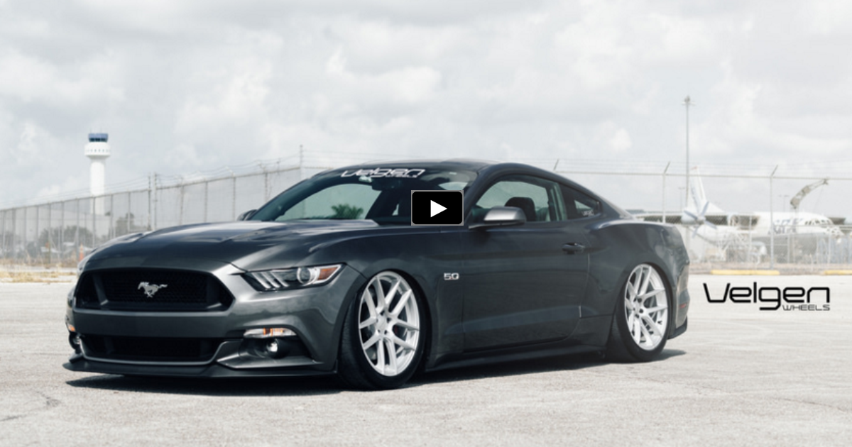 modified 2015 mustang gt s550