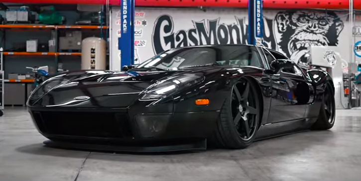 Striking ford gt custom by gas monkey garage hot cars for Garage ford paris 11