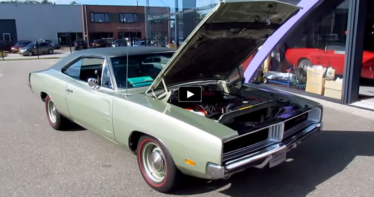 1969 dodge charger r/t restored to original