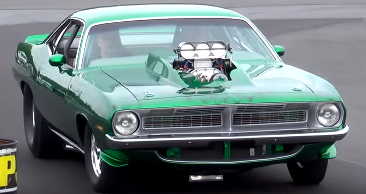 blown 1970 plymouth hemi cuda