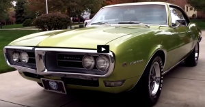 restored 1968 pontiac firebird