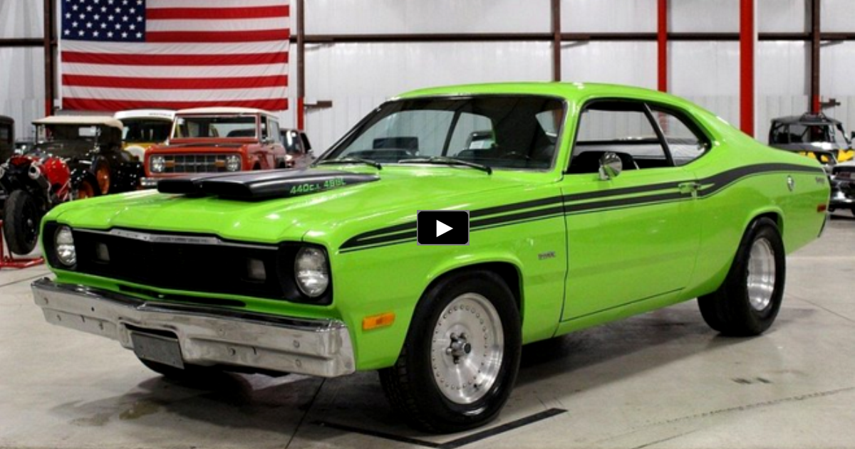 restored 1973 plymouth duster 440