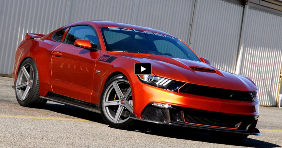 2015 mustang saleen black label details