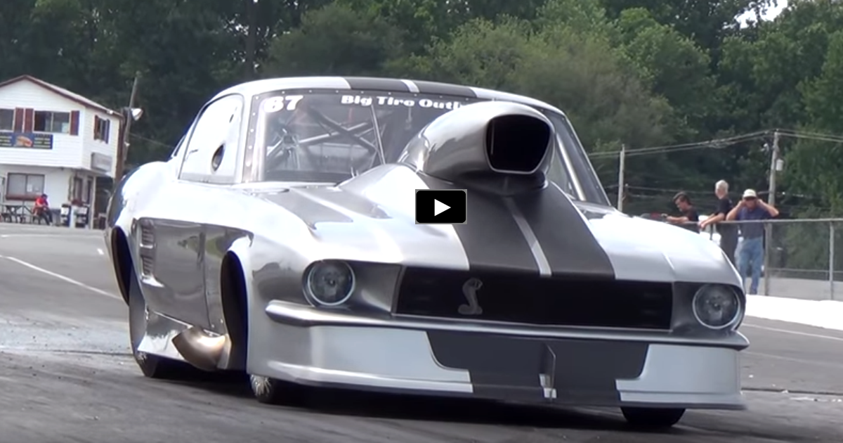 precision chassis 1967 mustang shelby drag racing