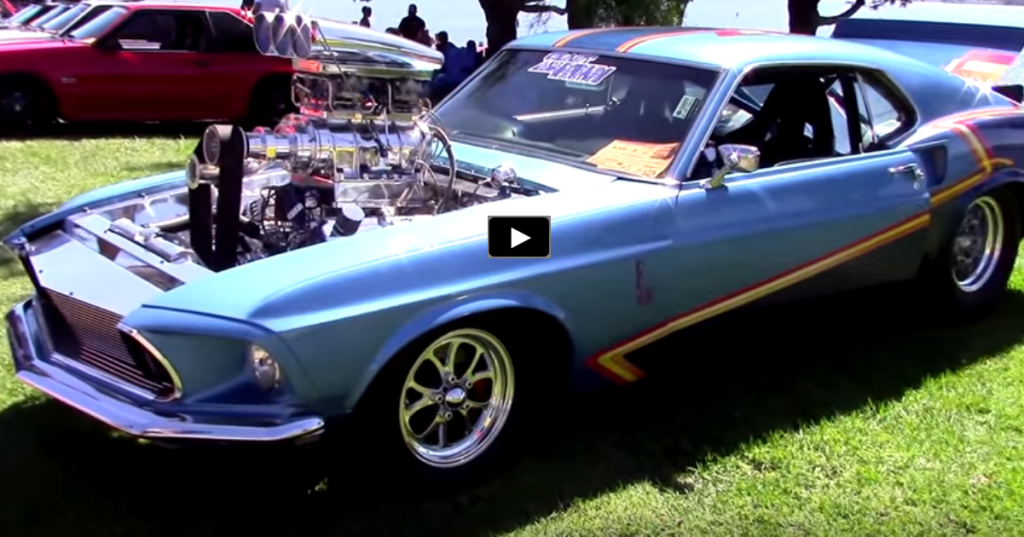 Blown 1969 Mustang Fastback Pro Street Build Hot Cars