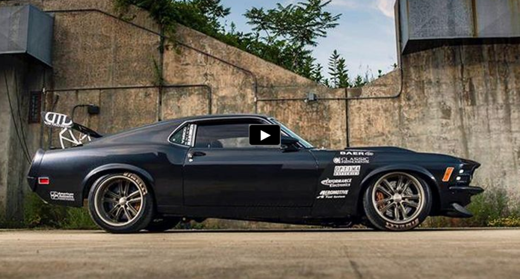 STRIKING 1970 MUSTANG CUSTOM BY TUCCI HOT RODS HOT CARS