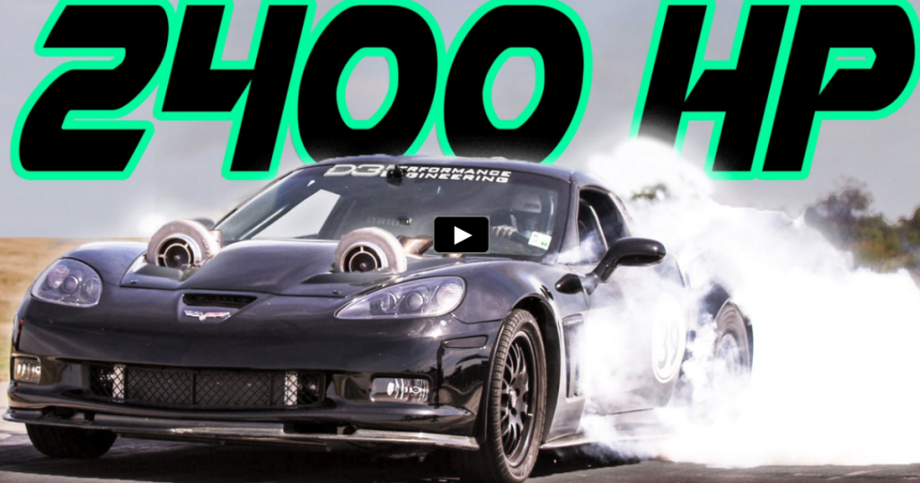 2400hp Twin Turbo Corvette Quot Unicorn Vette Quot Hot Cars