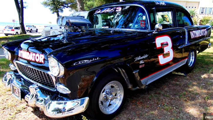 blown custom built 1955 chevy intimidator