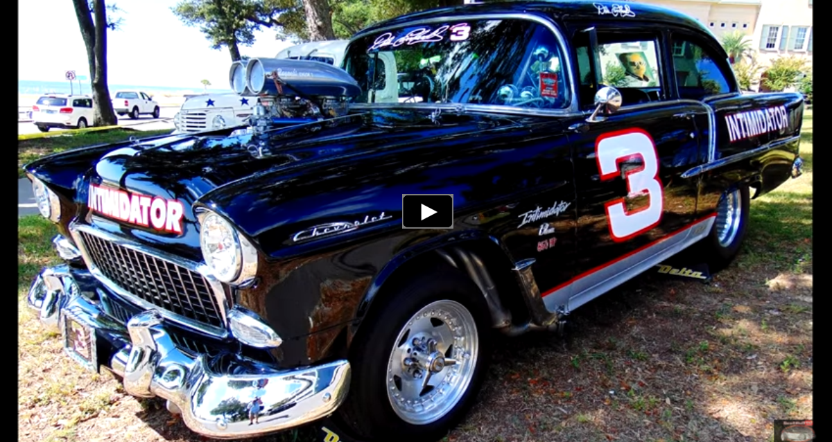 custom built 1955 chevy dale earnhardt edition